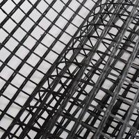 Carbon / Basalt / Glass Fiber Mesh Geo-Grid, Geogrid for Construction