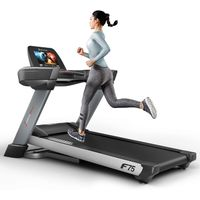 """Sportstech F75 high-end Treadmill with Large Running Surface 580x600mm, Android 15,6"""" display, WiFi"""