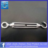 stainless steel turnbuckle hook and eye