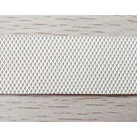 Mini Diamond Square White PVC Conveyor Belt 2.0mm