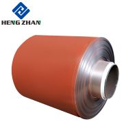 A3003 H24 PVDF Color Coated Aluminum For Roofing Sheet