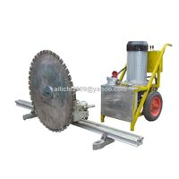 Hydraulic Concrete Cutting Machine for Cutting Concrete and Stone with Diamond Saw Blade