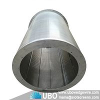 Stainless steel Johnson wedge wire screen cylinder thumbnail image