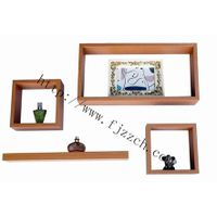4 pcs floating shelf set
