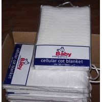 100% Cotton Cellular Thermal Blankets