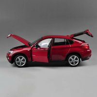 Alloy Car Model X6 1:18 Car Model Collection Red 25cm(9.84 inches)
