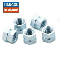 Customized Stainless steel hex nuts with ASTM DIN JIS Standard Hexagon Nuts thumbnail image