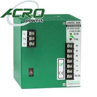 AD2500S.Series:DIN Rail Power Supply, 500W, Dual Output