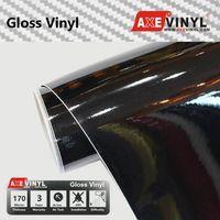 Axevinyl Factory Direct Sale Car Wrap Vinyl Premium Quality Gloss Vinyl Wrap Film 1.52X30m