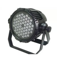 54pcs 3W RGBW Led water proof par light