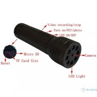 LED Flashlight Spy Video Camera