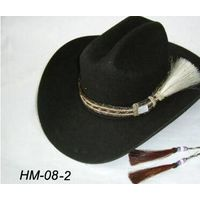 woven horsehair hat band horse hair tassel