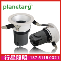 COB wall washer spotlight hotel downlight ceiling light die-cast aluminum spotlight high-end-planeta thumbnail image