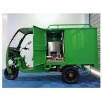 tricycle steam cleaning machine