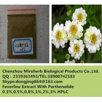 High quality feverfew extract / 0.33% ~ 3% parthenolide