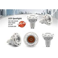 5W COB 410lm LED GU10 spot light