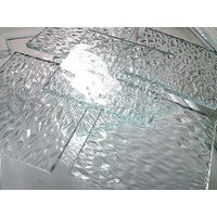 4mm Tempered Greenhouse Glass with Low Iron Pattern Glass
