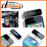 Car Kit LCD Wireless FM Transmitter MP3 Player 3.5mm For Iphone 5 5S 5C 4S 4 3G thumbnail image
