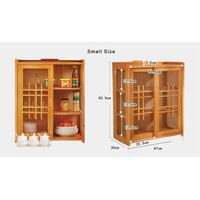 Paulownia wood kitchen cabinet, kitchen cupboard