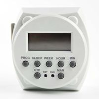 24 hour automatic battery digital timer switch