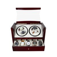 Custom Watch Shaker 4+5 Luxury Wooden Watch Winder For Home Use thumbnail image