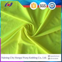 Fluorescent Reflective Polyester Nylon Polyamide Lycra Spandex Stretch Fabric