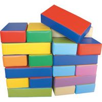 Softplay Toys PVC Steps Bridge Stairs Waterproof Kids Indoor Playground Soft Play Set thumbnail image
