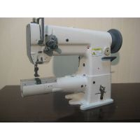 short arm double needle sewing machine