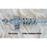 shower curtain poles for wooden thumbnail image
