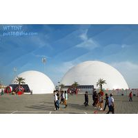 big size geodesic dome tent for outdoor events