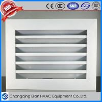 Aluminum Alloy Fixed Front Vent Grille for HVAC Systems