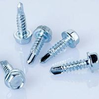 high quality galvanized hex head self drilling screw thumbnail image