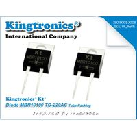 Kt Kingtronics Diode MBR10100 TO-220AC Tube Packing