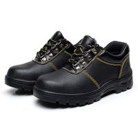 OEM manufacturer embossed leather pu outsole NO.3058 safety work shoes