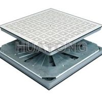 Huantong Anti-static Raised Access Floor - HT-perforated Panel-1 with damper