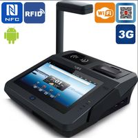 Jepower JP762A New Generation Android Pos Terminal with 3G Wifi and QR Code Scanner