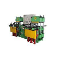 Plate rubber vulcanizing press machine thumbnail image