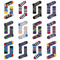 Colorful Cozy Fashion Custom Cotton Fancy Private Label Woman and Men Socks thumbnail image