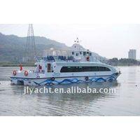 21.6m /99 Passenger Aluminum/fiberglass Hull Material catamaran type/twin hull boat