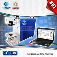 2014 China Best-Selling Fiber laser marking machine/laser machine/10W/20W/ laser wavelength:1064nm thumbnail image
