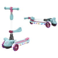 Customized Design Scooter Kids Scooter 3 PU Flashing Wheel Scooter for Children thumbnail image