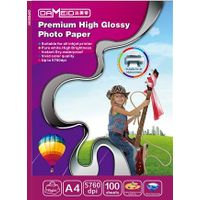 hot!! 115gsm High Glossy Inkjet Photo Paper, A4 size, water proof thumbnail image