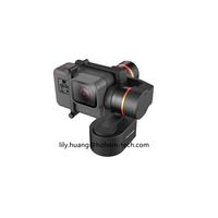 Hohem 3 Axis wearable hero 5 action camera stabilizer gimbal vs feiyu tech