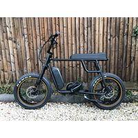 Mario 48v 1000w fat tire retro electric bike