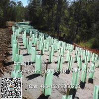 Factory Price PP Plastic corflute Tree Guards/ plant protector/ Tree shelters