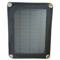 Portable Solar Charger 5W Monocrystalline USB Controller Outdoor Camping Waterproof Solar Powered Mo