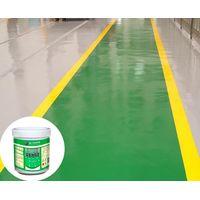 Water based epoxy floor floating coating