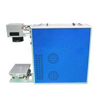 Lvming Portable 10W/20W/30W fiber laser marking/engraving machine for metal