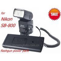 Pixel flashgun power pack charger for Nikon SB800 promotion now