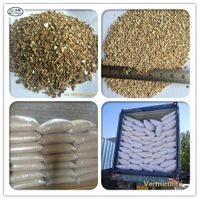1-3mm 2-4mm 4-8mm Expanded/ Raw vermiculite for Horticulture, Fireproof etc